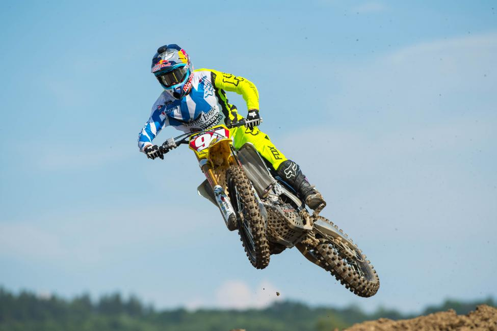 A pair of podium finishes for Roczen at Budds Creek will clinch his second career 450 Class title. Photo: Simon Cudby