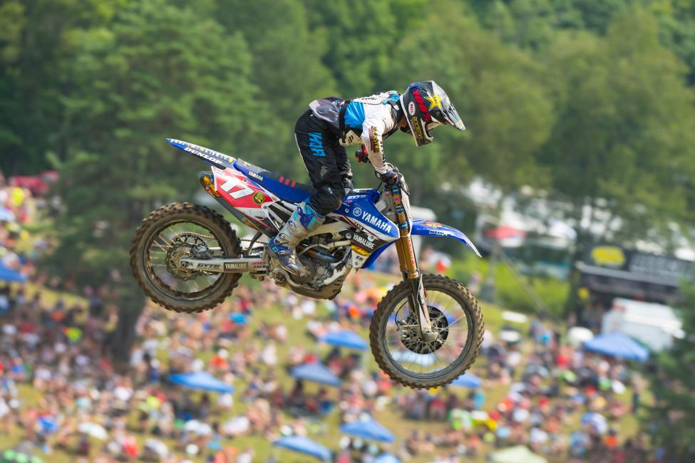 Just a pair of top-10 finishes at Budds Creek is all Webb needs to clinch his first career national title. Photo: Simon Cudby