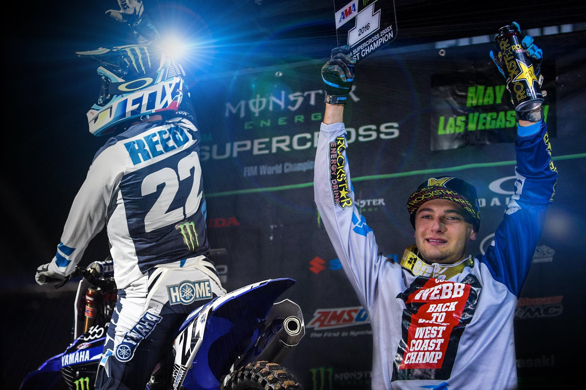 Chad Reed and Cooper Webb