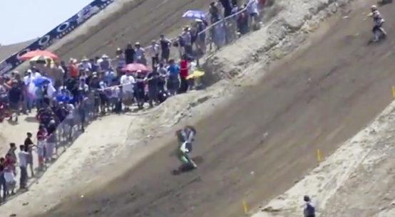 Anthony Rodriguez's Insane Crash At The 2016 Glen Helen National